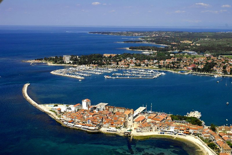 Umag area from the sky