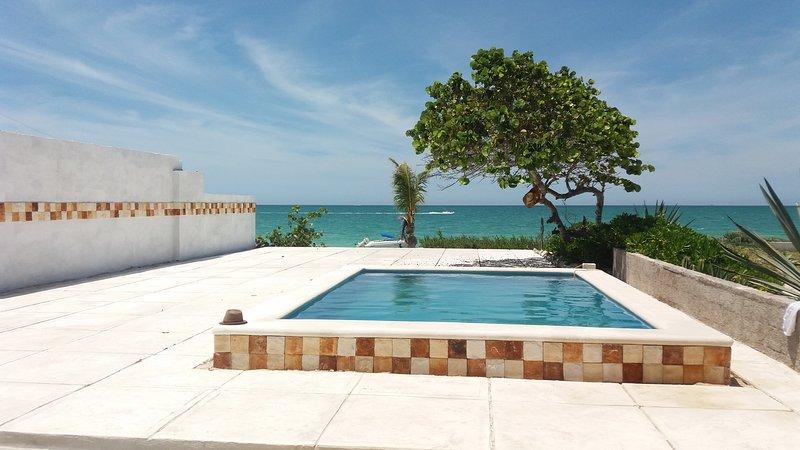 CASA TEQUILA OCEAN FRONT, holiday rental in Sisal