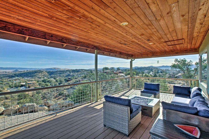 Retreat in scenic Prescott at this ideally located vacation rental house!