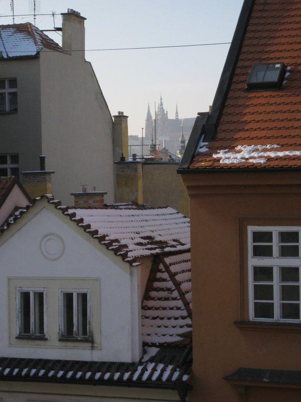 castillo vista desde el dormitorio principal