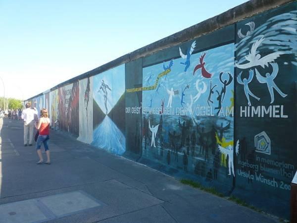 Muro de Berlim 10 minutos de distância