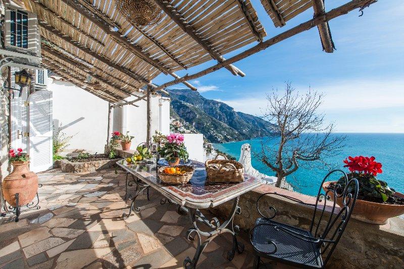 Villa paradiso, holiday rental in Positano