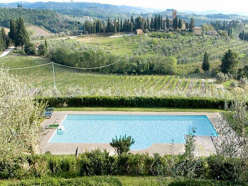 Villa Apollo Grande, holiday rental in Certaldo
