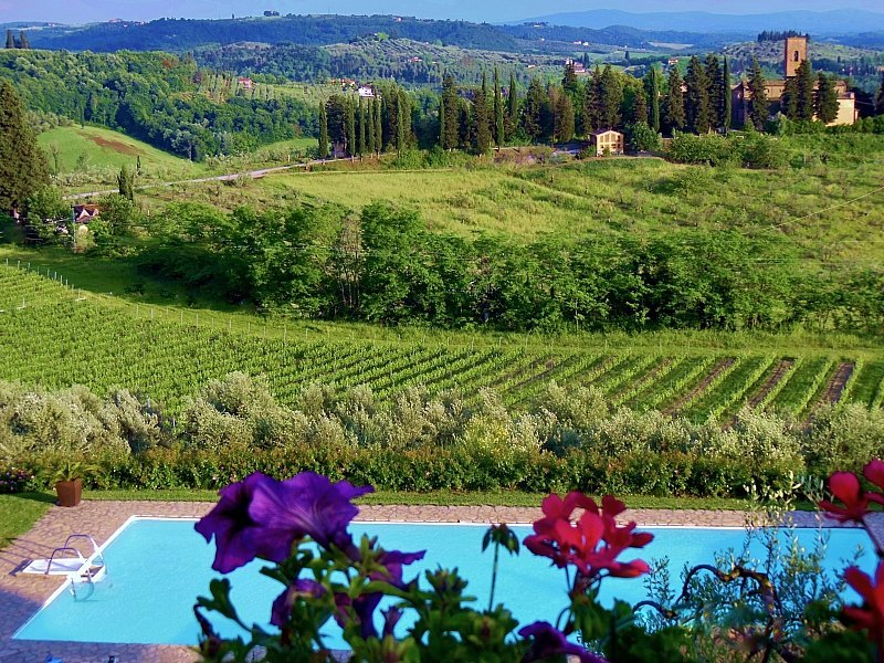 San Lazzaro Villa Sleeps 26 with Pool Air Con and WiFi - 5584114, holiday rental in Gorgognano