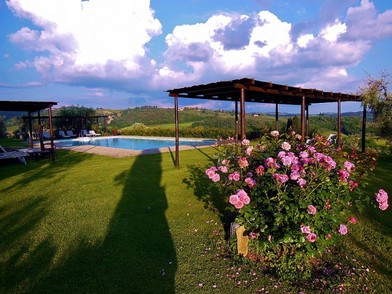 San Martino a Maiano Villa Sleeps 2 with Pool Air Con and WiFi - 5571353, vacation rental in Lucardo