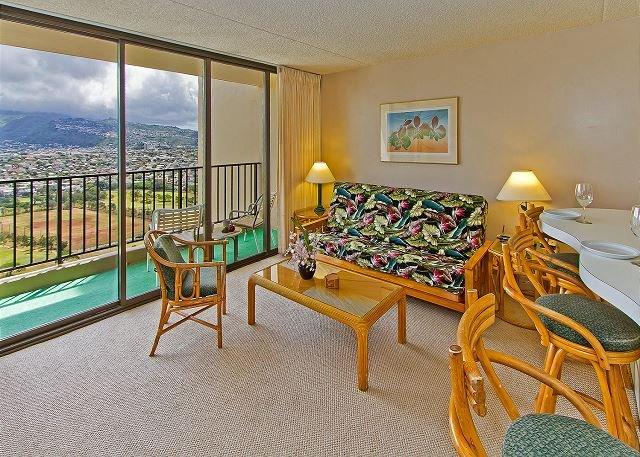Vista de la montaña Waikiki Banyan