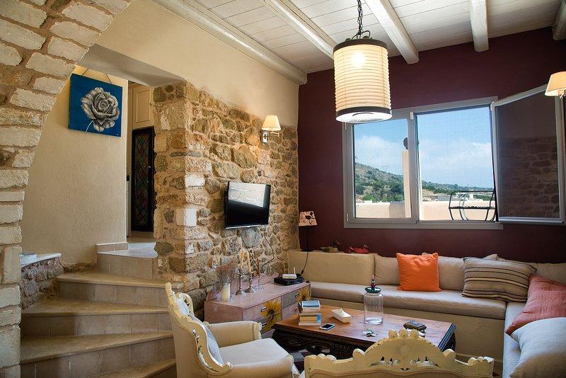 DION Villa - Cretan Rural Charm in Natural Habitat, aluguéis de temporada em Sitia