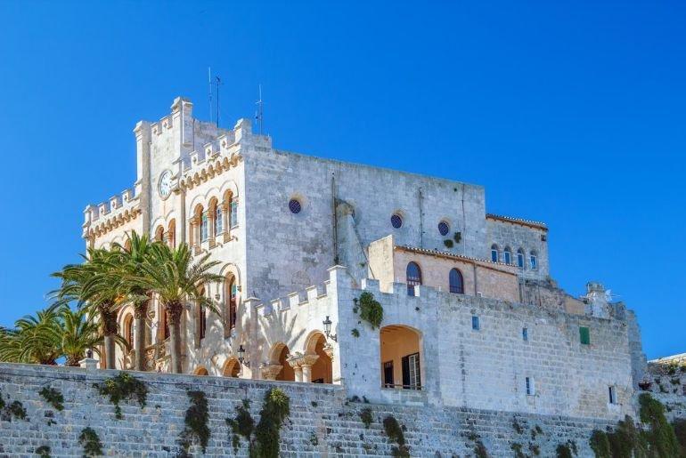 Town Hall, Puerto De Ciutadella