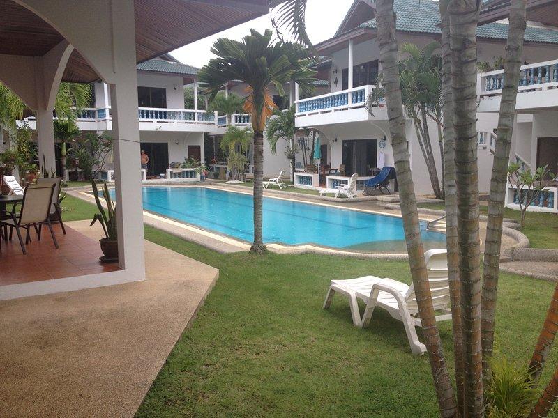 Vista piscina.