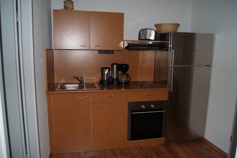 28 qm Apartment direkt am Rosengarten *Haus Parzival* 2.OG, location de vacances à Unterwurschnitz