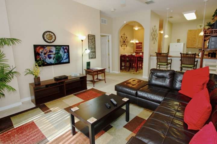 Living Area - Open Floor Plan w/Kitchen & Dining Areas