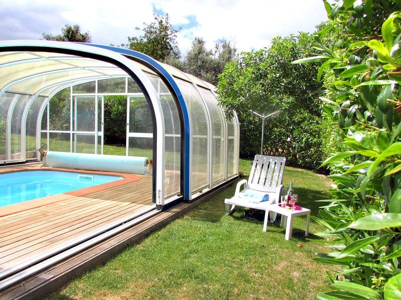 Wonderful heated pool
