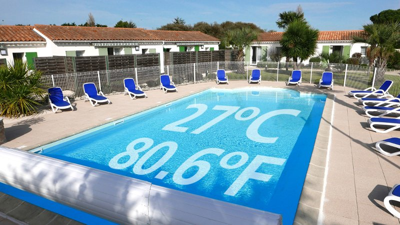Ile de Ré House with a  heated swimming pool (80.6 F), holiday rental in Ile de Re