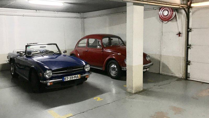 Option parking space in the underground garage