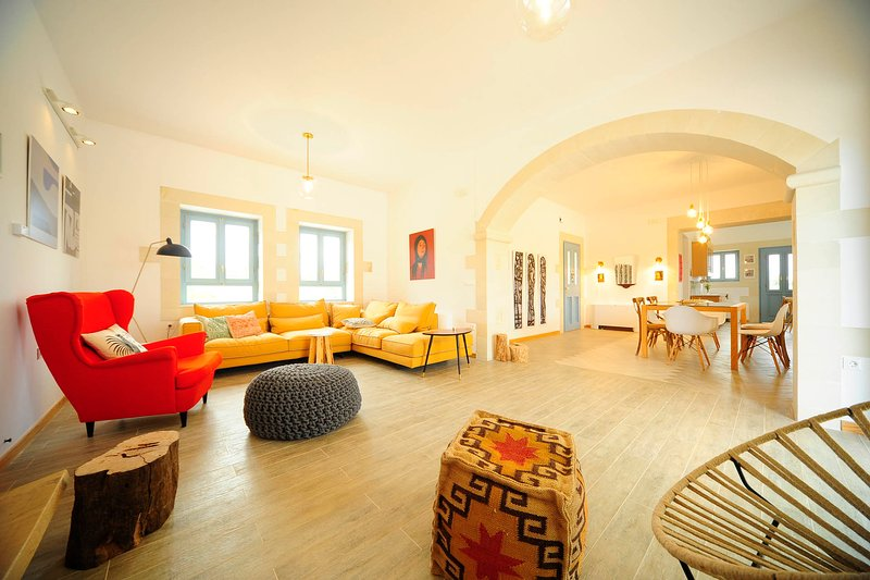 Guests are given the opportunity to relax in the nice and stylish living spaces.