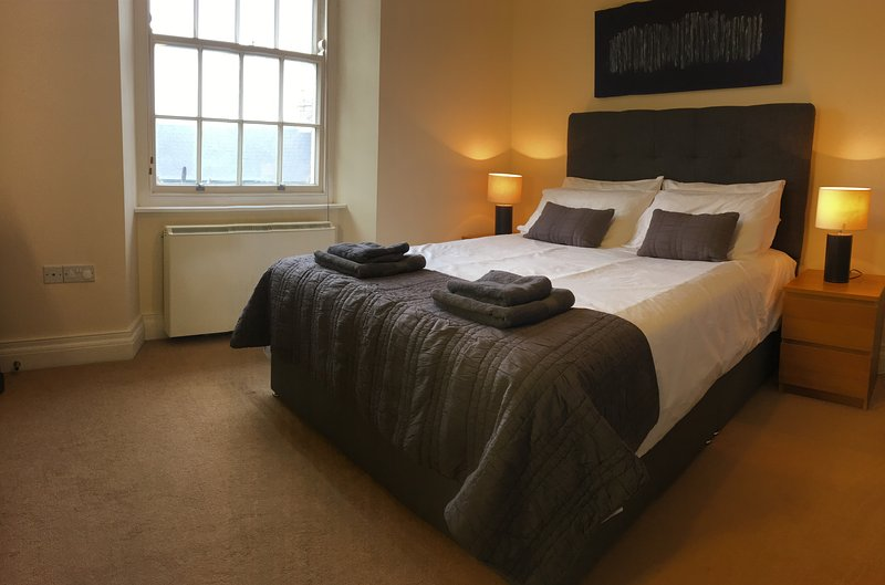 New for 2018 is our King Size Devan Bed in the Master Bedroom, with hotel quality bed linen