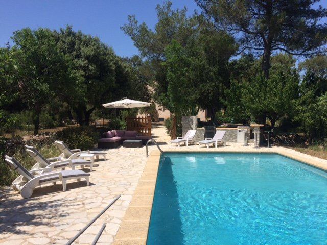 villa 8 personnes, holiday rental in Ollieres