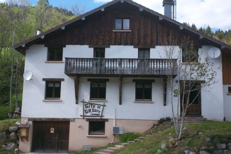 gite du col d'oderen, holiday rental in Husseren-Wesserling