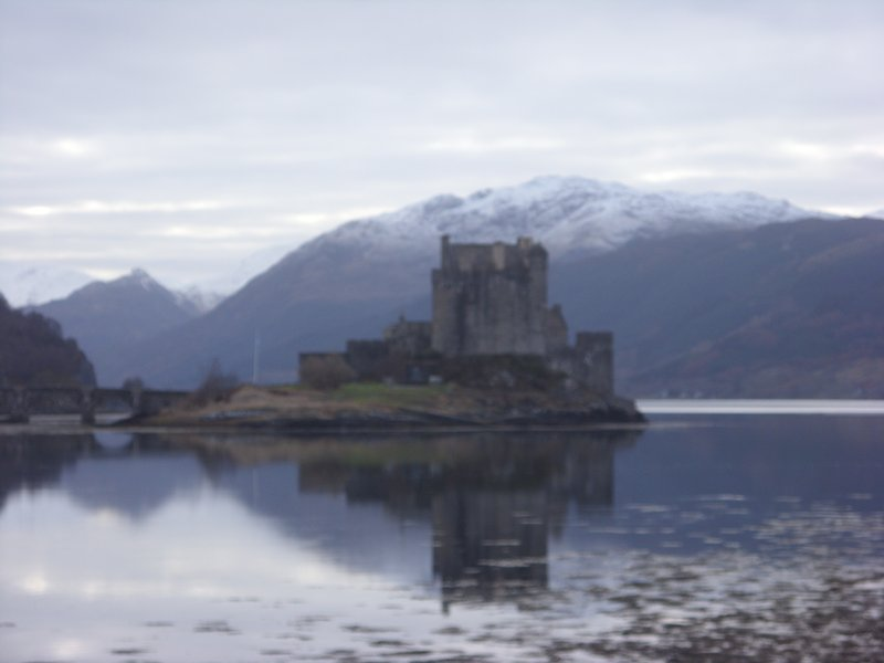 Eilean Donan Castle - on the mainland about an hour's drive from Elgol.