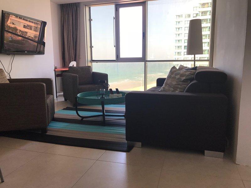 Beach apartment at th Daniel Hotel, holiday rental in Herzliya