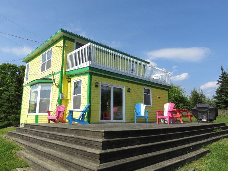 Bright View Cottage ligger i Rockland, Nova Scotia