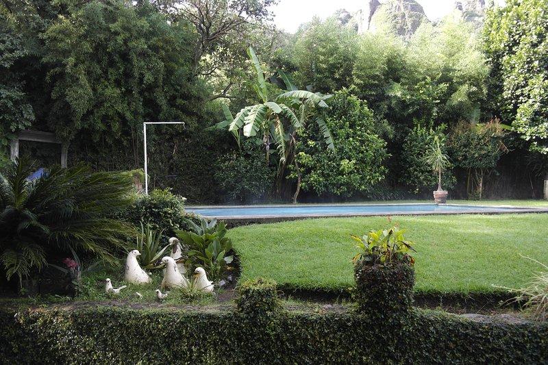 EL REFUGIO DE LAS PALOMAS Tranquilidad y descanso, holiday rental in Yautepec