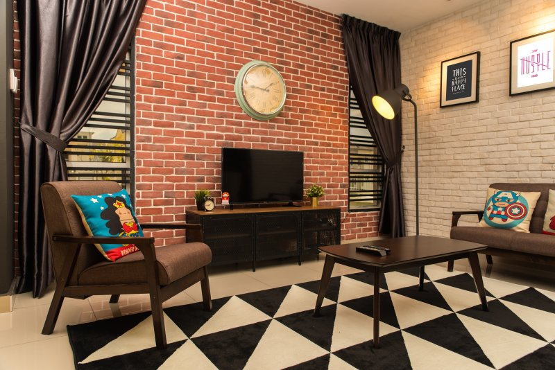 Rumah JOHO - Homestay that fits 8 pax comfortably, Ferienwohnung in Senai
