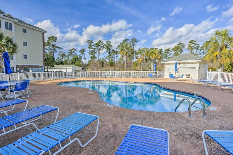 Experience Myrtle Beach from this ideally located vacation rental condo.