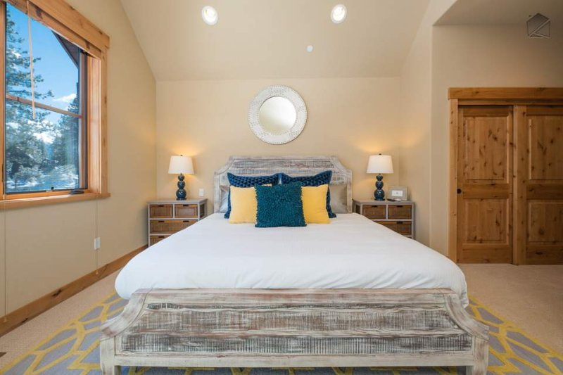 The Master Bedroom is located on the second floor and has its own ensuite bathroom.