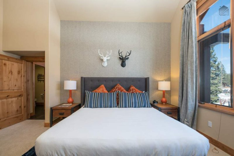 You'll sleep well in the Junior Master Bedroom's California King bed.