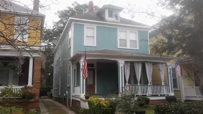 Historic home that is one block from historic downtown Wilmington, NC