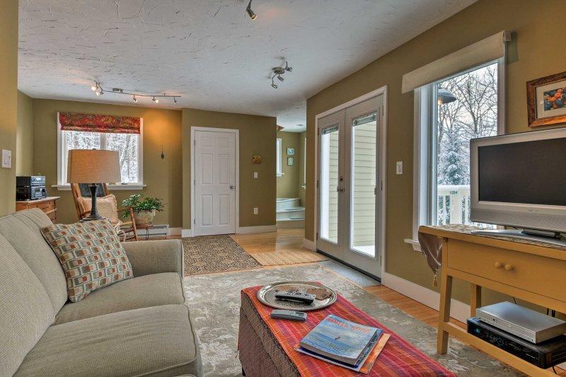 Esta casa de 1800 pies cuadrados, tiene alojamiento para 4.
