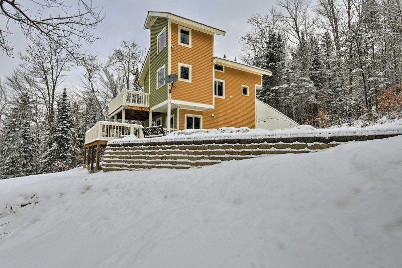 Esta casa ofrece acceso a lo mejor de lo estado de granito.