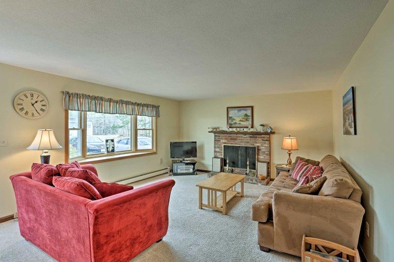 Godetevi il perfetto rifugio Cape Cod in questa casa vacanze a Brewster!