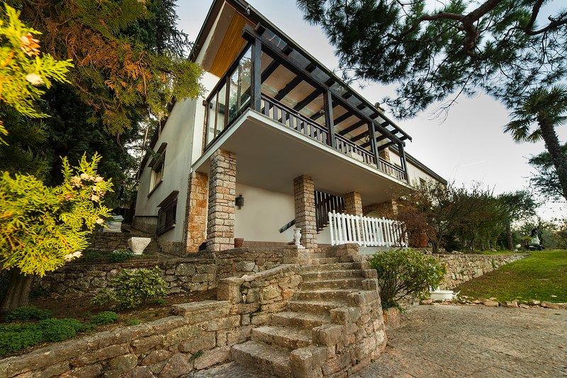 Vista giardino, vacation rental in Albisano