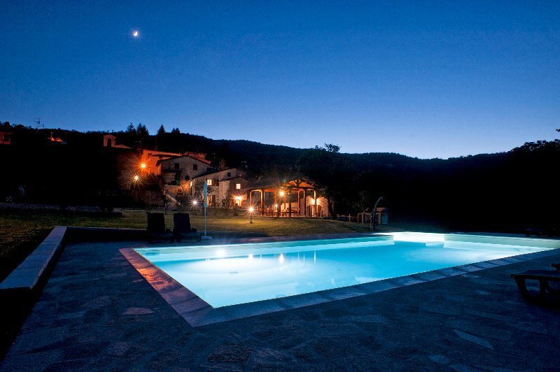 Podere Verdi Colline - Lovely farm with private pool near Florence, location de vacances à Poppi