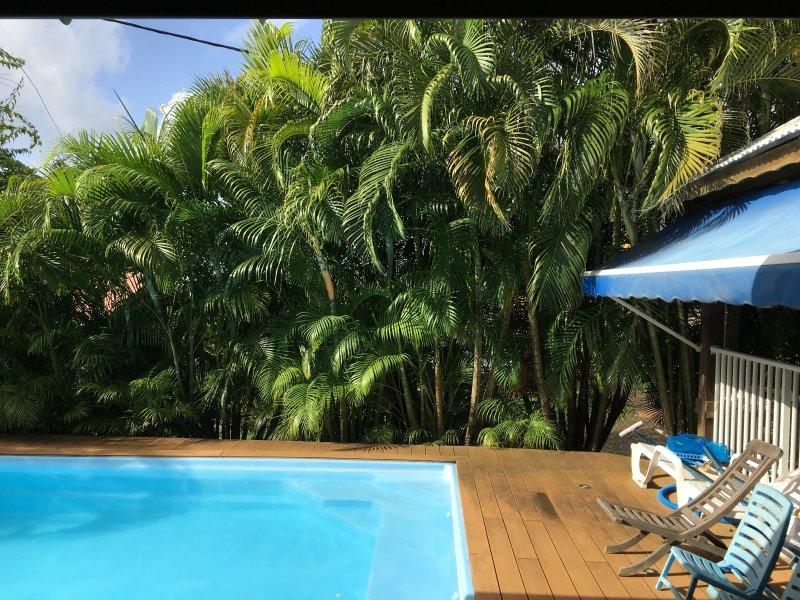Apartment with swimming-pool, location de vacances à Le Robert