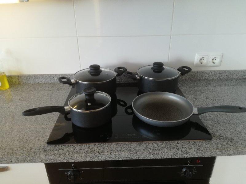 sartenes antiadherentes para cuando se quiere cocinar para vosotros