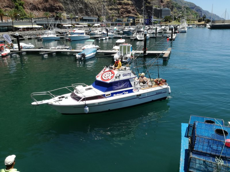 """Reservar un día de pesca en nuestro barco """"Gavito"""""""