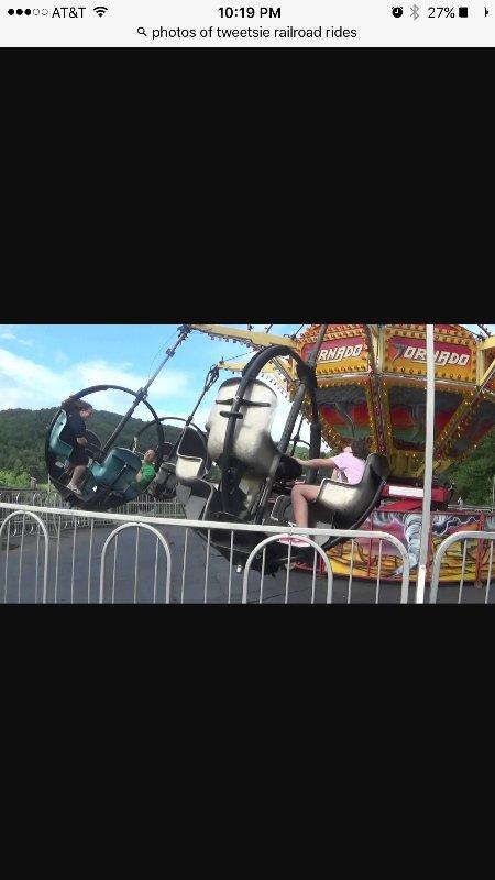 Tweetsies Railroad and amusement park.