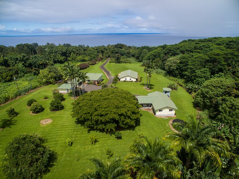 Welcome to Ola Kai Estate!  Ola Kai Estate has lovely ocean views from the rural location.