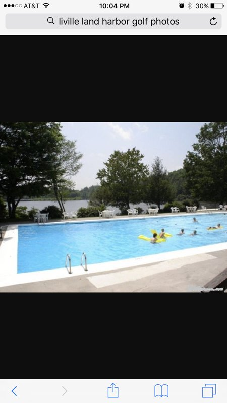 Heated swimming pool. Opens Memorial day!