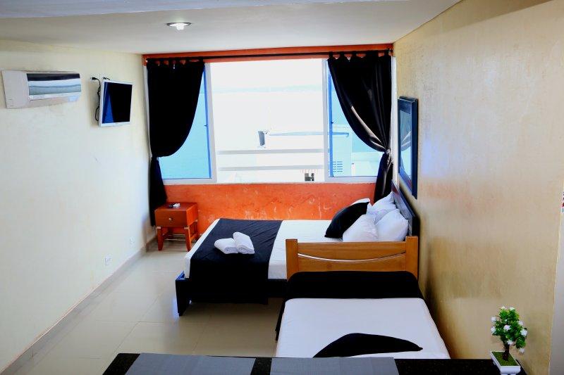 Apartamento en Cartagena Frente al Mar E19c1, location de vacances à Bocachica
