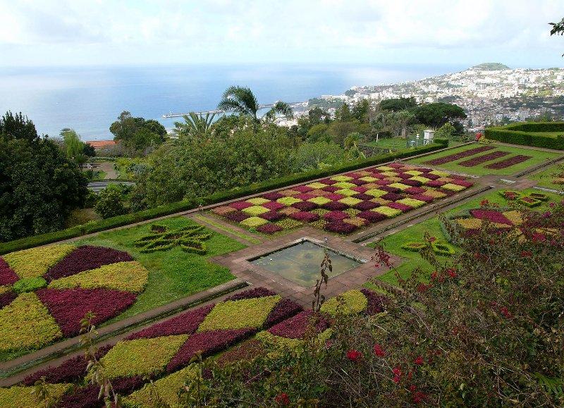 Botanical gardens near the house 'Jardim Botânico'