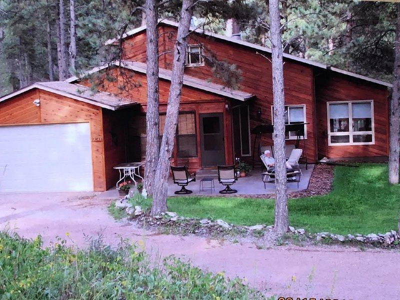 Gully's Cabin & Bunkhouse, vacation rental in Hill City