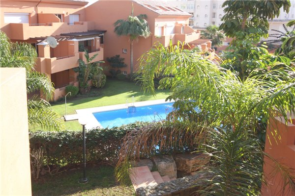 View of a great communal pool