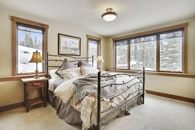lower level master suite with amazing views