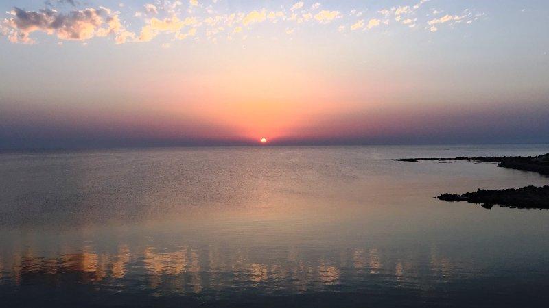 Porch-dawn Sea