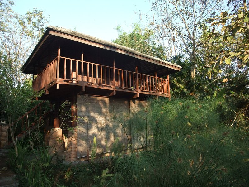 Chom Doi Pavilion, garden view