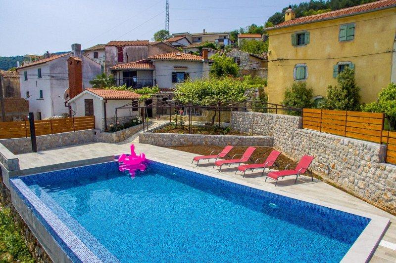 Three bedroom house Obrš, Opatija (K-7835), alquiler de vacaciones en Moscenicka Draga